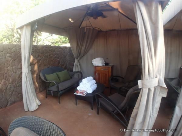 Our cabana!