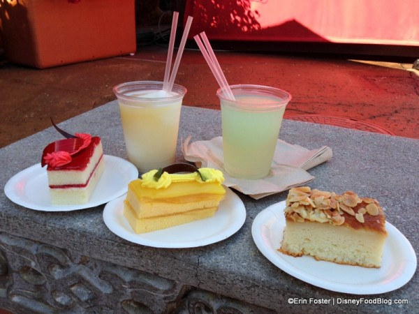 Pastries and Drinks at Spice Road Table