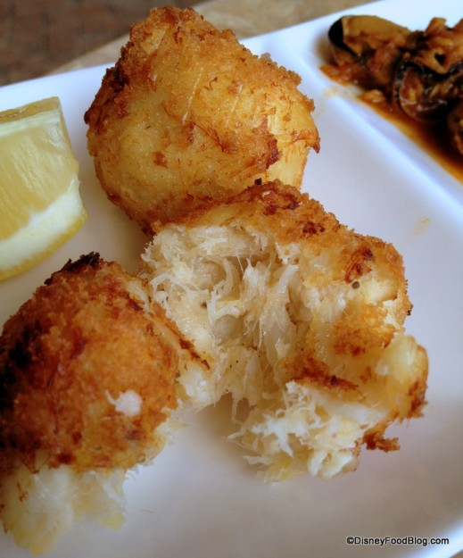 Salted Cod Croquettes -- Inside