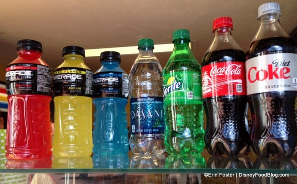 Soft Drinks at Spice Road Table