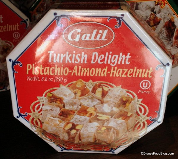 Turkish Delight with Pistachios, Almonds, and Hazelnuts