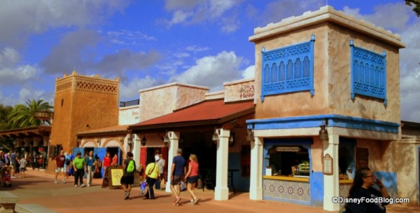 Spice Road Table and Shops in the Morocco Pavilion