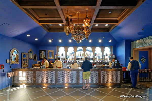 Spice Road Table Bar -- straight ahead as you enter