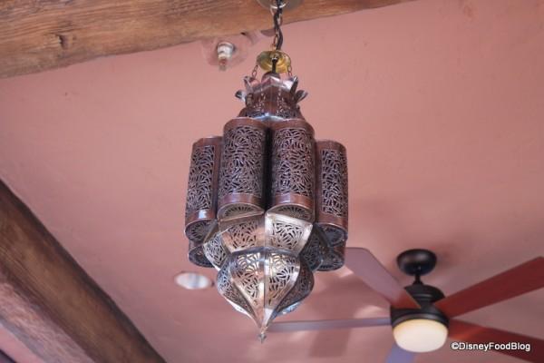 Spice Road Table Overhead Lanterns