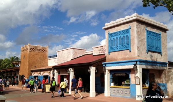 Spice Road Table and the Newly Renovated Morocco Shops