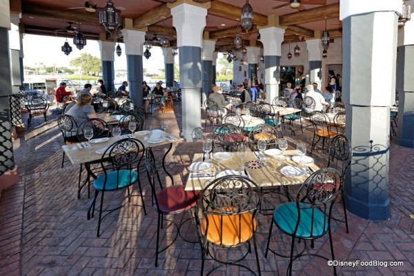 Spice Road Table Terrace Seating