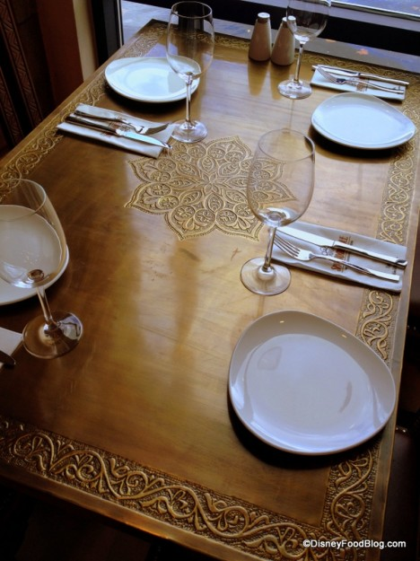 Beautiful Tabletop and Table Setting