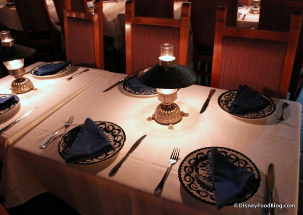 Table Settings and Lanterns