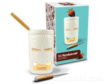 Tiki-Fondue-Set