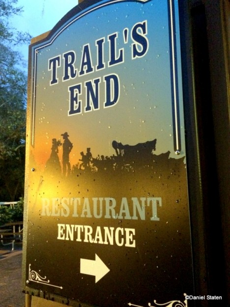 Trails End Sign
