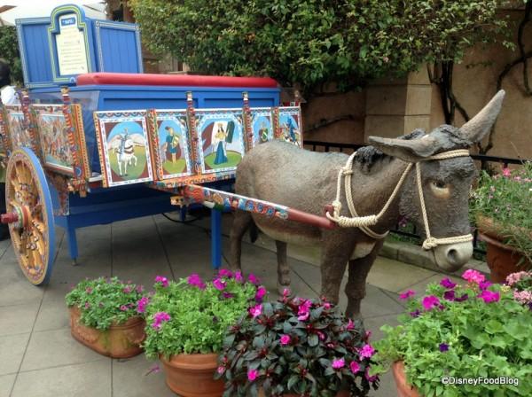 Via Napoli Donkey Stand in Epcot's Italy
