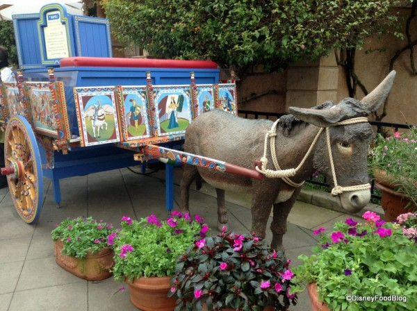 Via Napoli Donkey Stand in Epcot's Italy