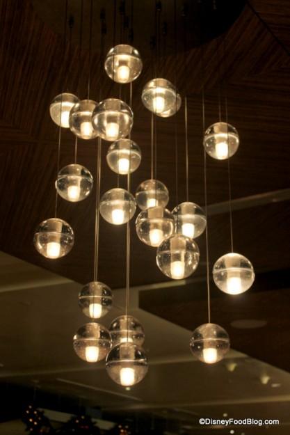 Love these modern lights