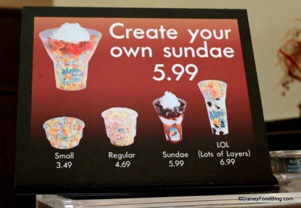 Create Your Own Sundae