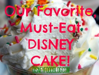 must eat disney cake