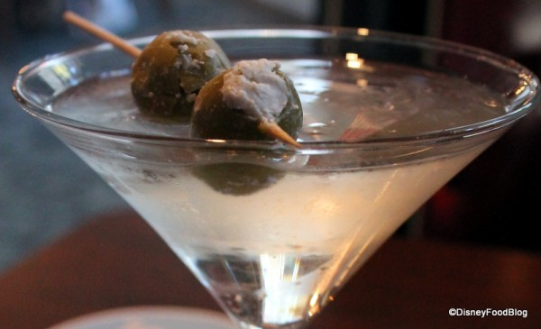 Bleu cheese-stuffed olives