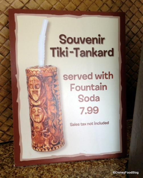 Souvenir Tiki-Tankard