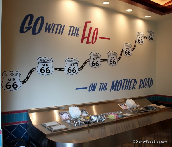 Go with the Flo Mural