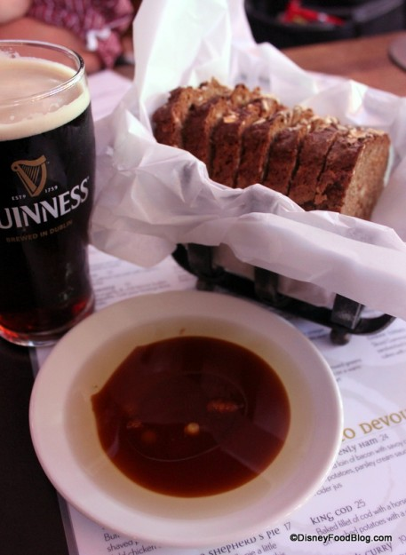 Irish Soda Bread with Olive Oil and Guinness Reduction