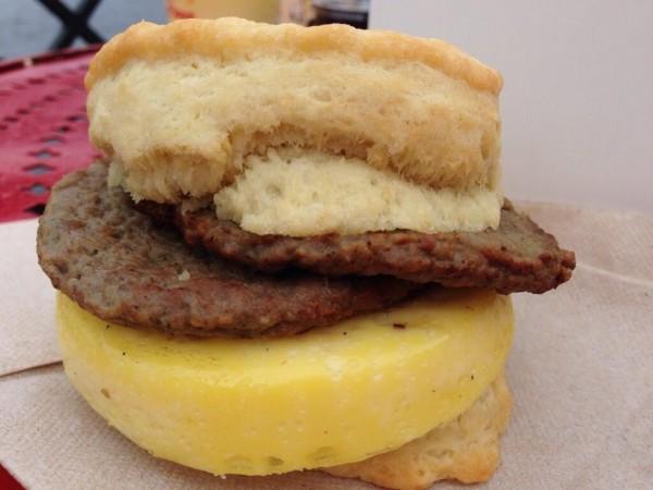 Breakfast Sandwich from BoardWalk Bakery