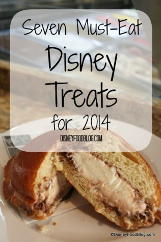 Seven Must Eat Disney Treats for 2014