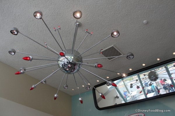 Cool Light Fixtures and Rear View Mirror