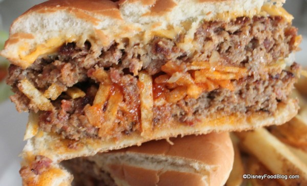 Double Cheeseburger -- Cross Section
