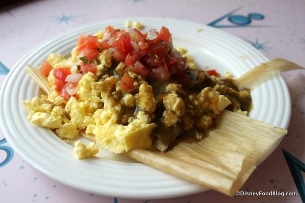 Chicken Tamale Breakfast