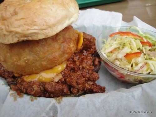 Pioneer Chili Cheeseburger