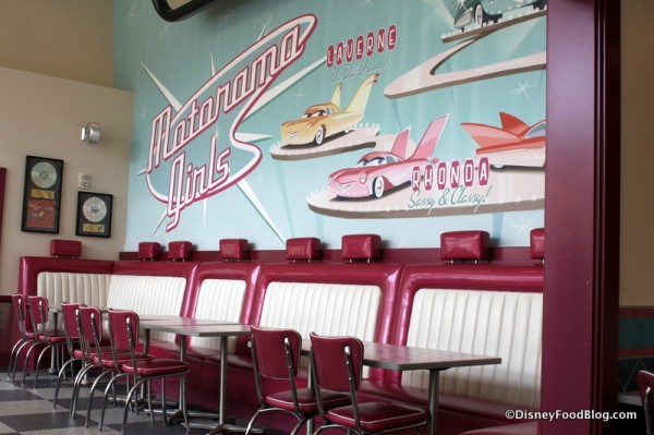 Mural and Vintage Carseat Booths