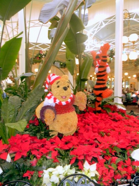 Winnie The Pooh and Friends Greet You As You Enter