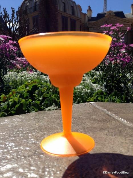 Supersized Grand Marnier Orange Slush