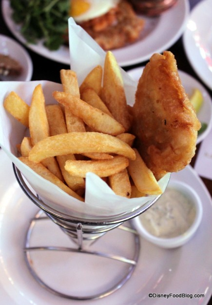 Fish and Chips at Raglan Road