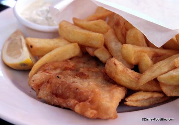 Fish and Chips -- Up Close