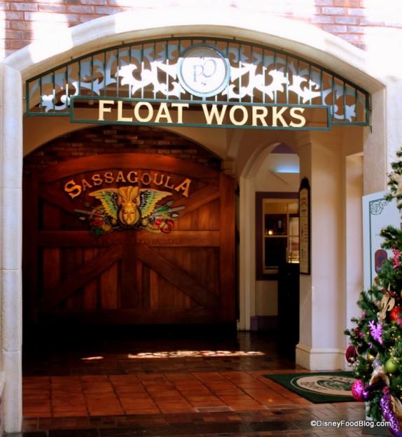 Entrance to Float Works