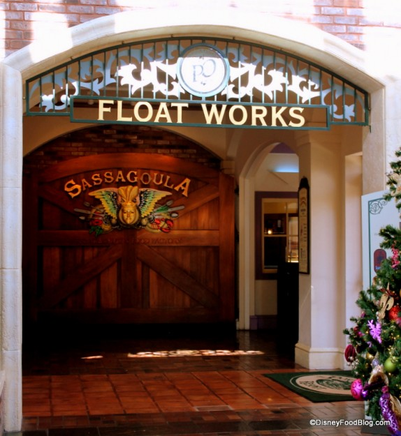 Entrance to Float Works