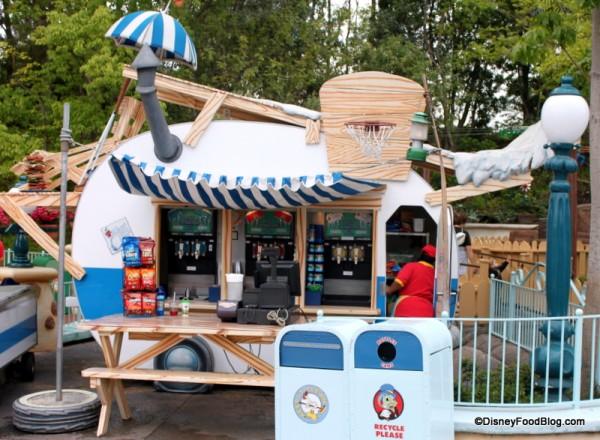 Frozen Drink Stand