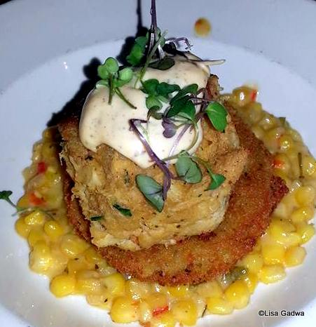 Crab Cake at Fulton's
