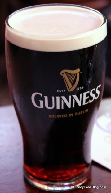 A Pint of Guinness. Because When in Rome...