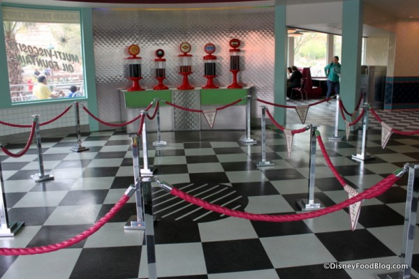 Queue Area