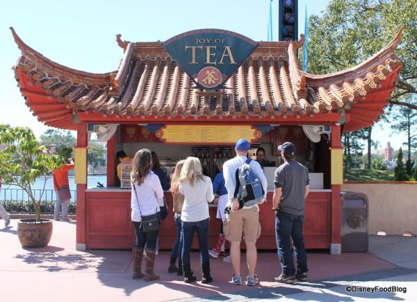 Joy of Tea Kiosk