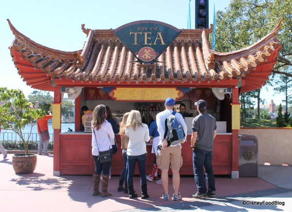 Joy of Tea Kiosk