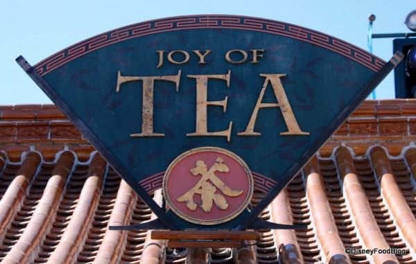 Joy of Tea sign