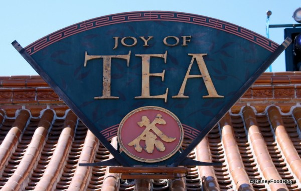 Joy of Tea sign