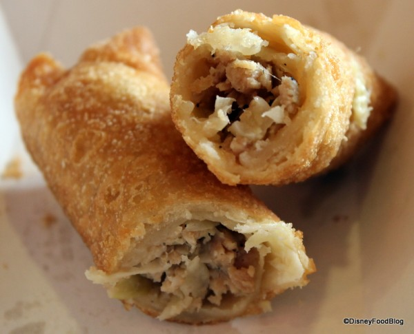 Center of Pork and Vegetable Egg Roll