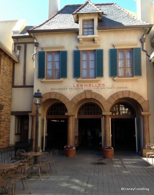 Les Halles Boulangerie Patisserie in Epcot's France Pavilion