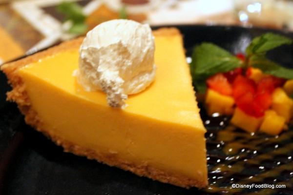 Refreshing Mango Pie