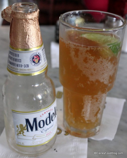 Modelo Beer with Lime