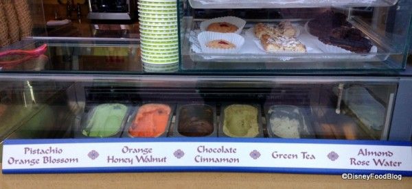 Morocco Juice Bar Chef Created ice Cream Epcot