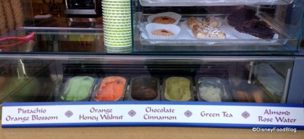 Morocco Juice Bar Chef Created ice Cream Epcot